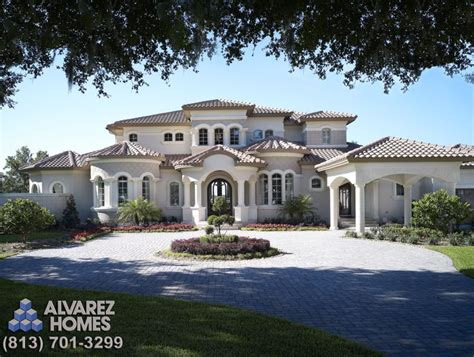 beautiful mediterranean homes the audrey front exterior by ta custom home builder