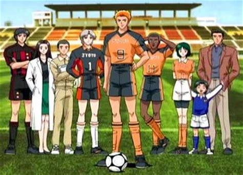 Bola Sepak Pro Team Striker baguseven 10 anime bertema sepak bola paling dikenal