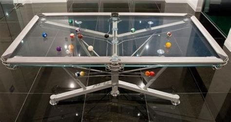 expensive pool tables glass pool table is an expensive bad idea boing boing