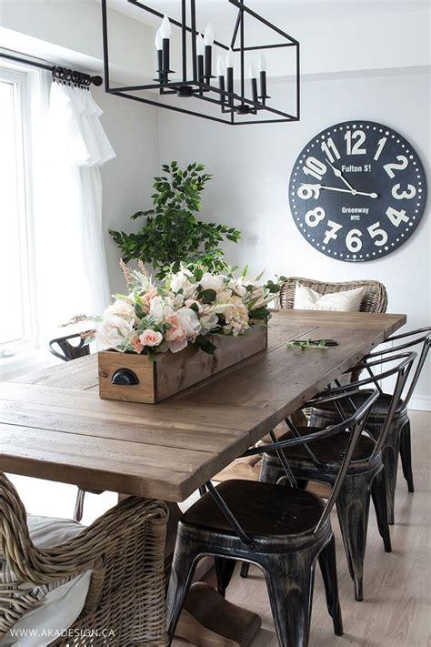 Diy Dining Table Centerpieces 25 Best Ideas About Modern Farmhouse Decor On