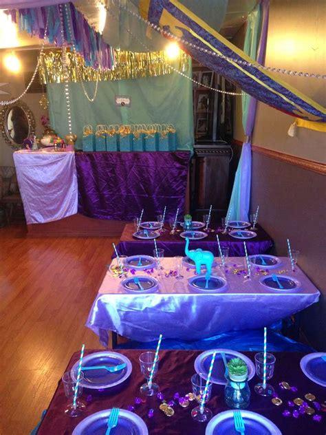 jasmine themed birthday party princess jasmine birthday party ideas photo 7 of 24