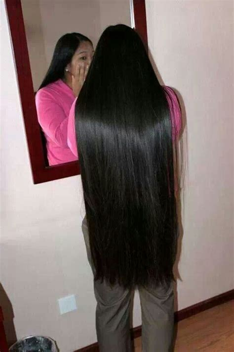 photos of lovely dark black long silky hairs of indian chinese girls in braided pony styles pin by 骨太ゴン太 on very long hair pinterest