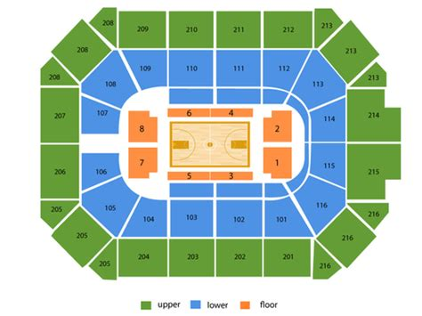 chicago wolves seating chart allstate arena seating chart events in rosemont il