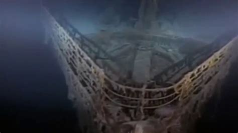 imagenes verdaderas del titanic hundido titanic por dentro real hundido youtube