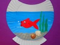 Paper Bag Fish Craft - summer crafts on paper plate fish fish bags