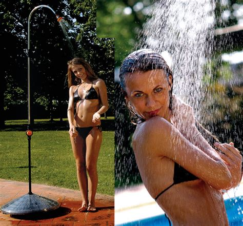 outdoor water shower solar shower well that s jim on light