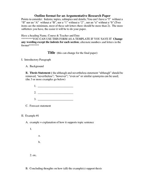 apa research paper outline template basic pictures format example