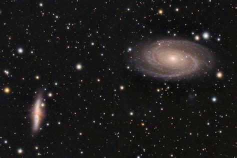 The Cosmic Duo M81 M82 Sky Telescope National Optical Astronomy Observatory M81 M82