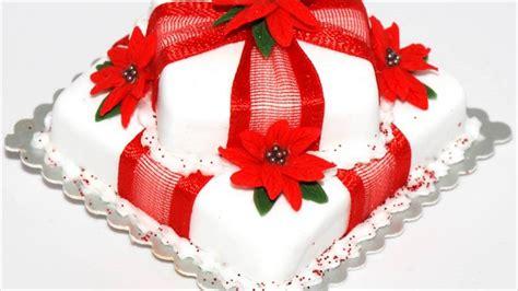 easy christmas cake decorating ideas youtube