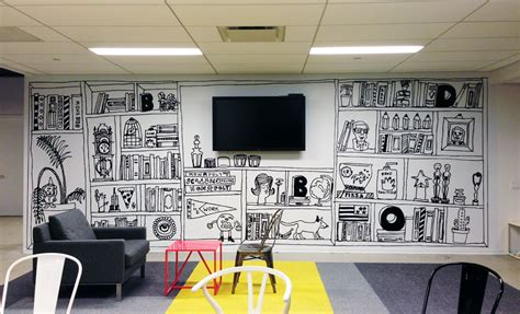 The Office Mural by Bbdo Office Murals Davis