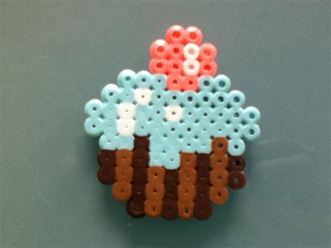 cupcake perler cupcake perler bead cake ideas and designs