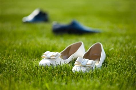 Wedding Shoes For Grass by Free Stock Images Wedding Shoes In The Grass Field Elsoar