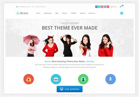 best blog themes ever 9 bootstrap themes worth checking out where to find more