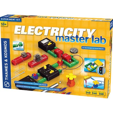 electricity learning electricity master lab deluxe science kit educational