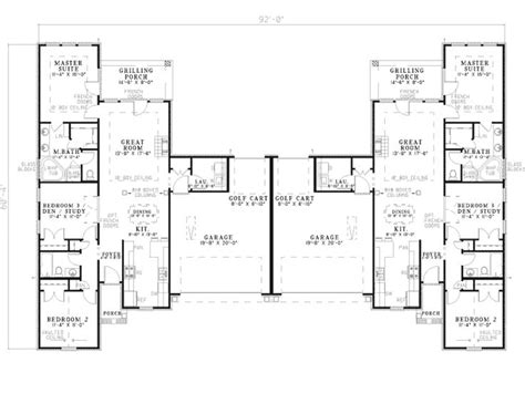 dual family house plans dual family house plans house plan 2017