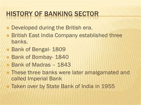 origin of bank indian banking sector