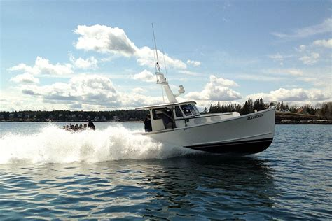 lobster boat mold just launched commercial boats from sw boatworks in
