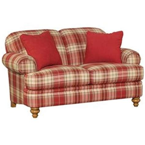 red checkered sofa red plaid furniture pinterest