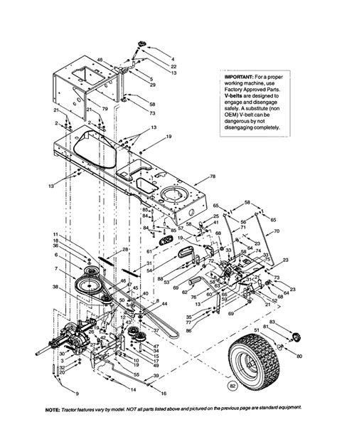 yardman lawn mower belt diagram frame drive belt transmission diagram parts list for