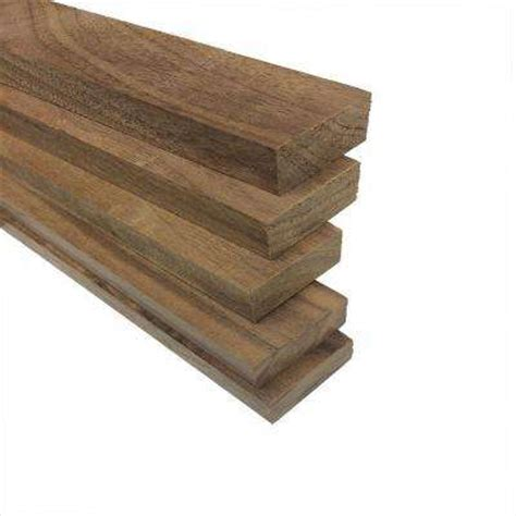 walnut 1x2 appearance boards the home depot