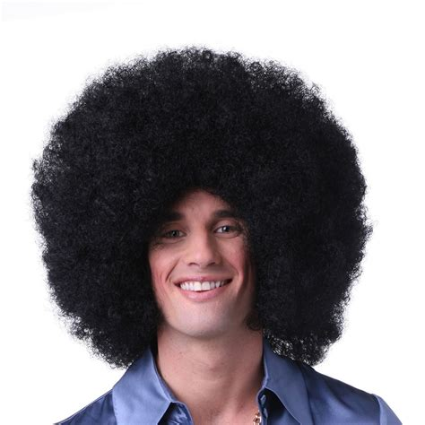 afro clown wig