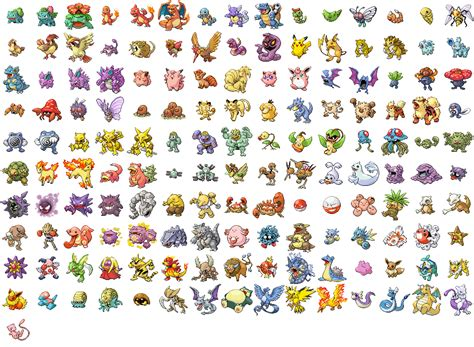 Pokémon FireRed/LeafGreen Characters   Giant Bomb