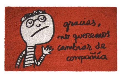 felpudo gracioso 218 ltimas tendencias en alfombras decoraci 243 n hogar decoralia es