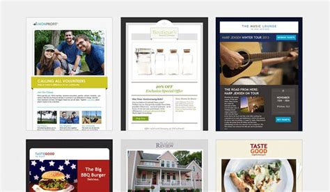 400 Custom Email Newsletter Templates Constant Contact E Mail Pinterest Newsletter Constant Contact Templates