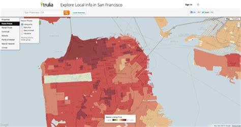 san francisco heat map san francisco heat map michigan map