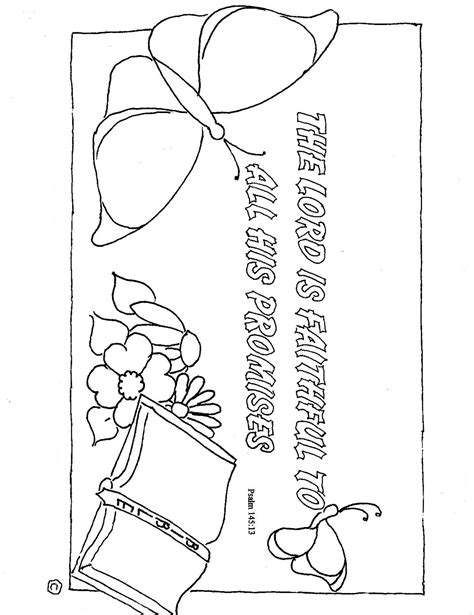 Coloring Pages For Kids By Mr Adron God Is Faithful Free God Is Coloring Page