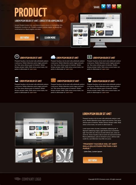 landing page css template free 170 best free html website templates images on design web website designs and