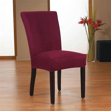 sure fit harlow stretch form fit dining chair slipcover in