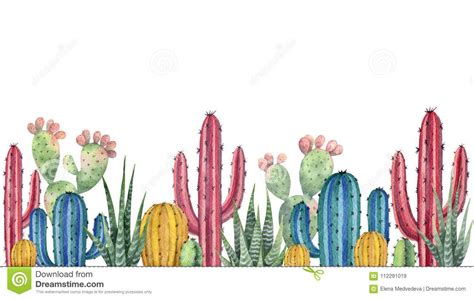 watercolor desert stock  royalty  stock images