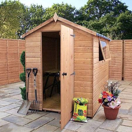 7 X 5 Garden Sheds by 7 X 5 Waltons Groundsman Tongue And Groove Apex Garden