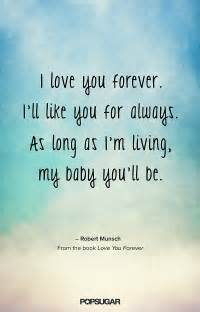 I Love You Forever Book Quotes love you forever 23 of our all time favorite kids book
