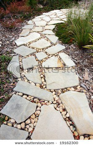 an idea of something to put between our flagstone gt gt garden