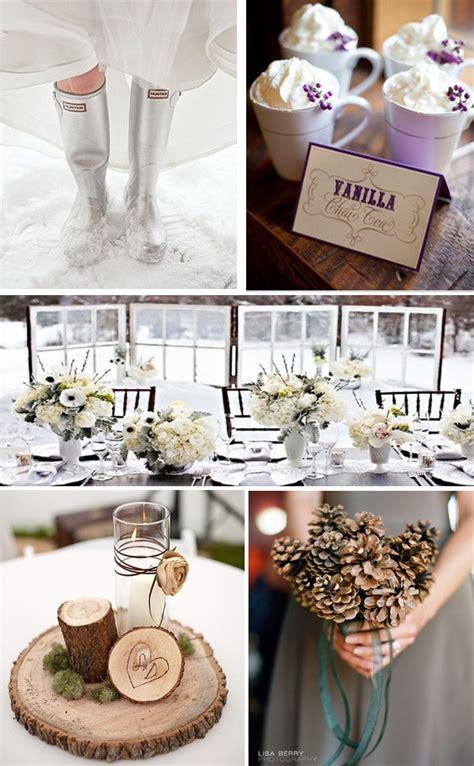 best ideas on winter themed wedding details brides