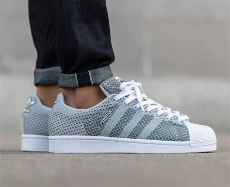 mens adidas superstar weave pack grey lace up shoes trainers size 6 12 uk ebay