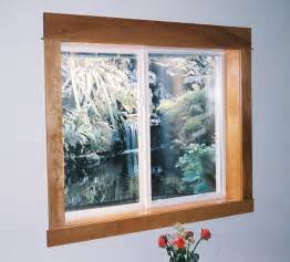 pvc window trim interior vinyl basement windows precise forms inc