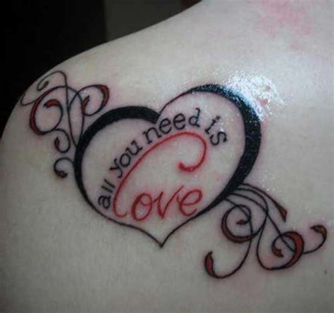 love is all or nothing tattoo ideas top picks 36 unisex best love tattoos designs