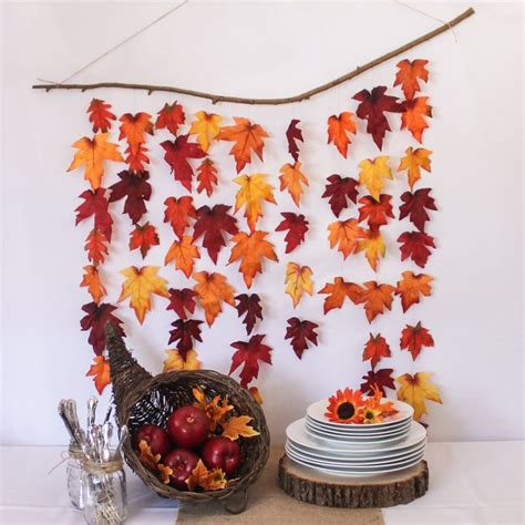 easy fall leaves diy decor   practically  page