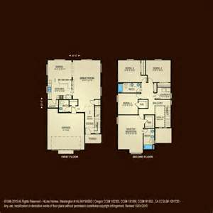 2 Story Home Design Plans by Properties Plan 2326 Hiline Homes