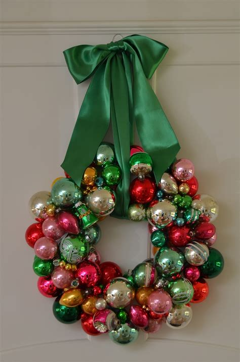 christmas garlandballs the princess and the frog a vintage wreath