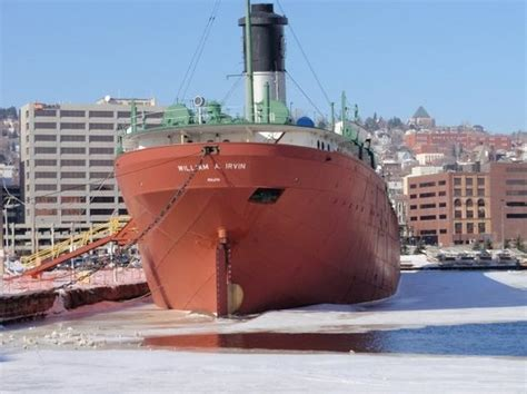 boat rental near duluth mn s s william a irvin ore boat museum duluth mn