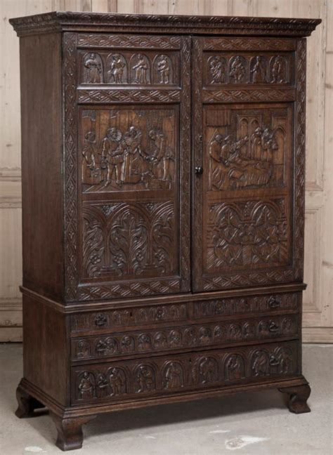 armoires and more dallas antique old english country armoire chamber room