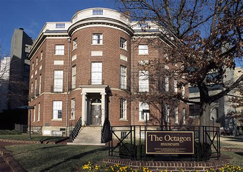the octagon house the octagon of washington d c the house that helped build a capital