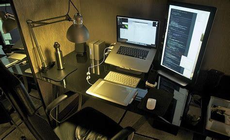 impressive home office workstation setups