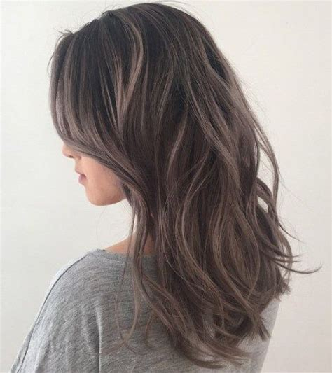 silver highlighted hair styles 1000 ideas about ash brown hair on pinterest ash brown