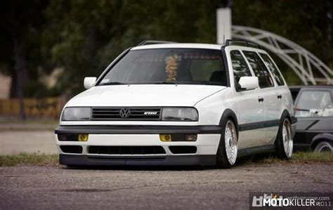 vw golf mk slammed google search  dub pinterest station wagon golf  search