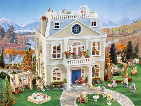 Child Chandelier Amazon Com Calico Critters Cloverleaf Manor Toys Amp Games